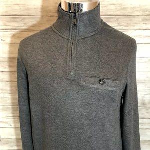 Men NEW! Ted Baker London 1/4 Zip Sweater N12